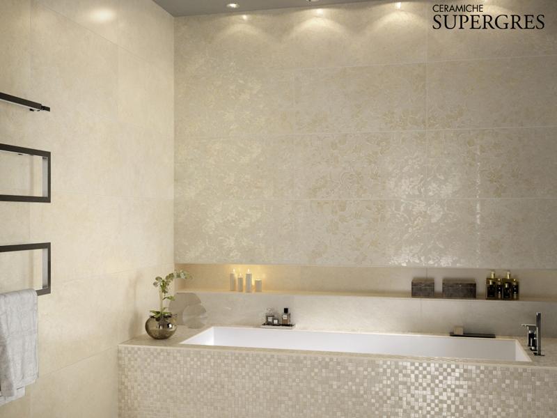 bagno moderno » bagno moderno a mosaico - galleria foto delle ... - Foto Piastrelle Bagni Moderni
