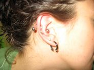 Piercing all'orecchio